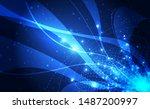 vector digital global... | Shutterstock .eps vector #1487200997