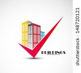 buildings design vector   Shutterstock .eps vector #148720121