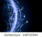 blue vivid image of globe....   Shutterstock . vector #148722344