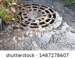 Grid Of Storm Sewers With Mud...