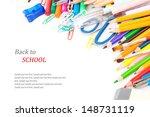 back to school concept ... | Shutterstock . vector #148731119