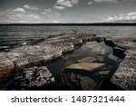 Cold Waters Of Lake Huron And...