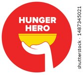 help feed a hungry child....   Shutterstock .eps vector #1487345021