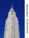 the chrysler building in... | Shutterstock . vector #14874448