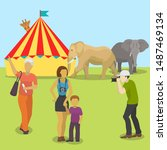 Circus Animals And People...