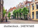 Beautiful Street In Utrecht ...