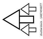 Pointer Arrow Icon Design...