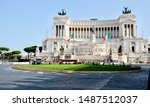 A View From The Piazza Venezia  ...