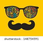 retro sunglasses with...