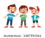 Kid Bully Friend Bad Behavior...