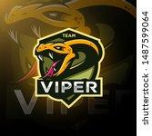 Viper Snake Head Esport Logo...