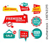 colorfull sale   discount... | Shutterstock .eps vector #148763195