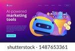 marketing funnel  lead... | Shutterstock .eps vector #1487653361