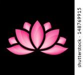 glossy lotus flower for design...