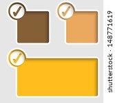 set text frames check box | Shutterstock .eps vector #148771619