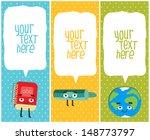 vertical school banners or...   Shutterstock .eps vector #148773797
