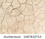 Dried Cracked Earth Soil Groun...
