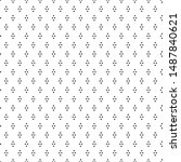 dotted seamless pattern.... | Shutterstock .eps vector #1487840621
