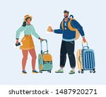 cartoon vector illustration of... | Shutterstock .eps vector #1487920271