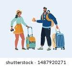 cartoon vector illustration of... | Shutterstock .eps vector #1487920271