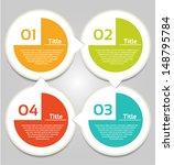 vector progress background  ... | Shutterstock .eps vector #148795784