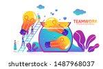 vector creative illustration of ... | Shutterstock .eps vector #1487968037