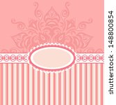 romantic background with...   Shutterstock . vector #148800854