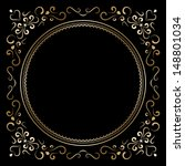 vintage gold background  vector ... | Shutterstock .eps vector #148801034