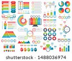 set of infographic elements.... | Shutterstock .eps vector #1488036974