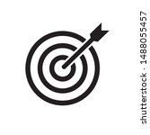 target icon  accurate icon... | Shutterstock .eps vector #1488055457