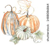 Watercolor Autumn Compositions...