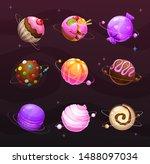 beautiful sweet round planets....