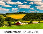 Farm Fields And Rolling Hills...