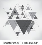 modern geometric background... | Shutterstock .eps vector #1488158534