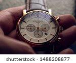 Small photo of Patek Philippe Mens Wrist Watch in Hand