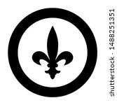heraldic symbol heraldry liliya ... | Shutterstock .eps vector #1488251351