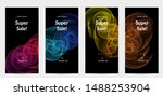 sale banners for social media... | Shutterstock .eps vector #1488253904