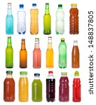 drinks in bottles | Shutterstock . vector #148837805