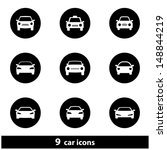 car icon set. raster version ... | Shutterstock . vector #148844219