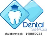 dental extraction services... | Shutterstock .eps vector #148850285