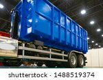 Blue Truck Body. The Body Of...