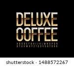 vector luxury emblem deluxe... | Shutterstock .eps vector #1488572267