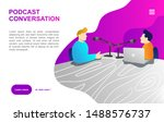 website template for podcast...