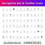 navigation bar and tab bar icon ...