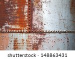 Old Rusted Metal Background...