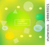 gradient smooth mesh background.... | Shutterstock .eps vector #1488650021
