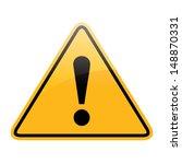 danger sign | Shutterstock . vector #148870331