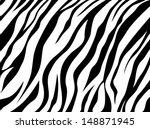 skin zebra | Shutterstock . vector #148871945