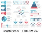 infographic elements   timeline ... | Shutterstock .eps vector #1488725957