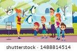 summer vacation  happy family... | Shutterstock .eps vector #1488814514